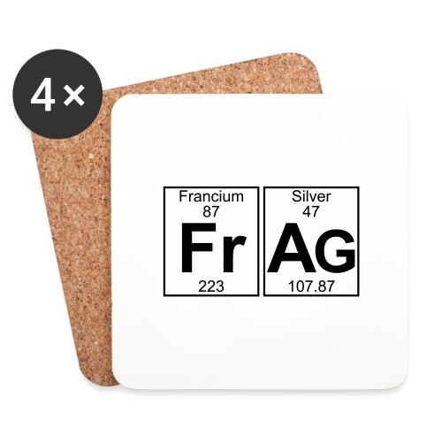Fr-Ag (frag) - Full - Coasters (set of 4)