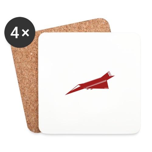 Air Fighter - Dessous de verre (lot de 4)