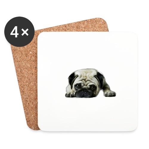 Cute pugs - Posavasos (juego de 4)