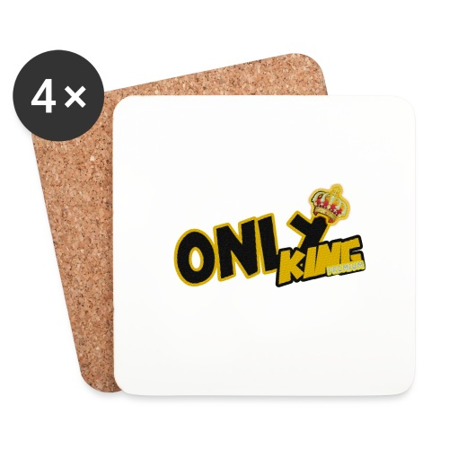 Only King Premium 1 - Dessous de verre (lot de 4)
