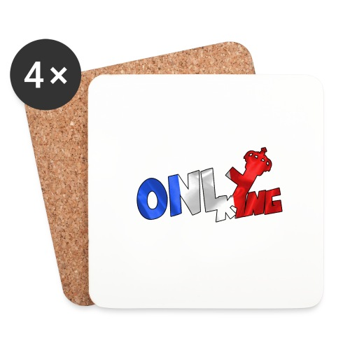 Logo ONLY KING edition francaise - Dessous de verre (lot de 4)