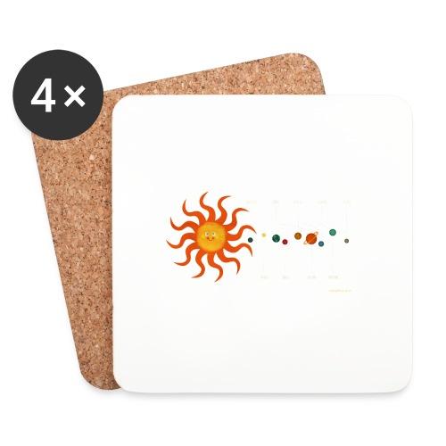 Solar System - Coasters (set of 4)