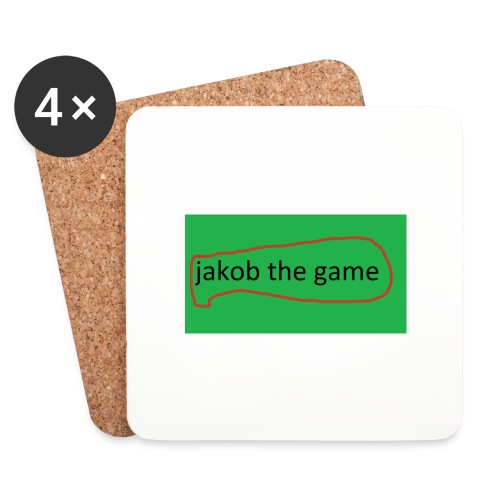 jakobthegame - Glasbrikker (sæt med 4 stk.)