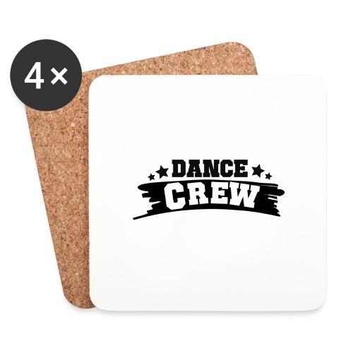 Tshit_Dance_Crew by Lattapon - Glasbrikker (sæt med 4 stk.)