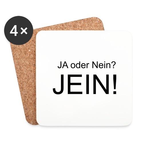 JEIN! - Untersetzer (4er-Set)