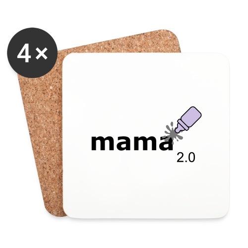 Mama_2-0 - Untersetzer (4er-Set)