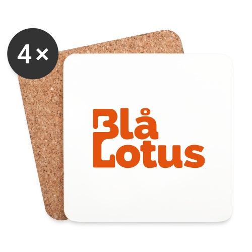 Blå Lotus_logo - Underlägg (4-pack)