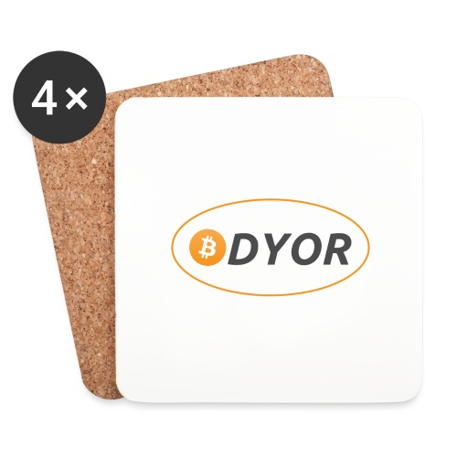 DYOR - option 2 - Coasters (set of 4)