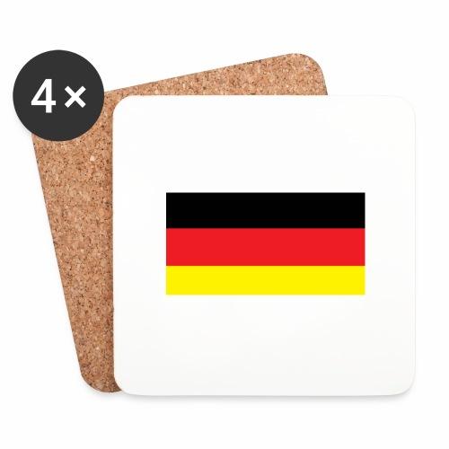Deutschland Weltmeisterschaft Fußball - Untersetzer (4er-Set)