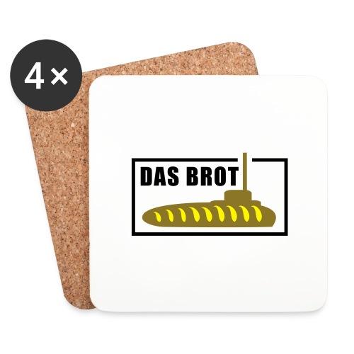 Das Brot - Untersetzer (4er-Set)