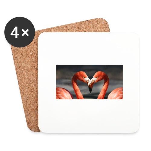 flamingo - Untersetzer (4er-Set)