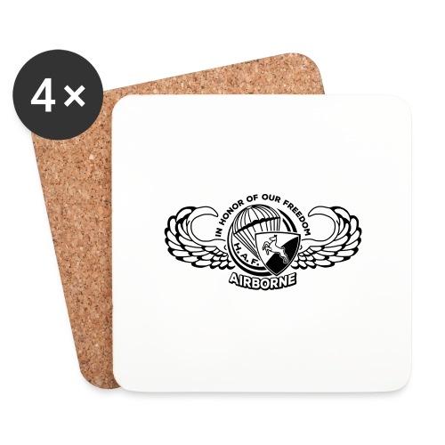HAF tshirt back2015 - Coasters (set of 4)