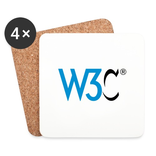 w3c - Coasters (set of 4)