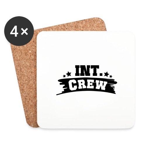 International Crew T-Shirt Design by Lattapon - Glasbrikker (sæt med 4 stk.)