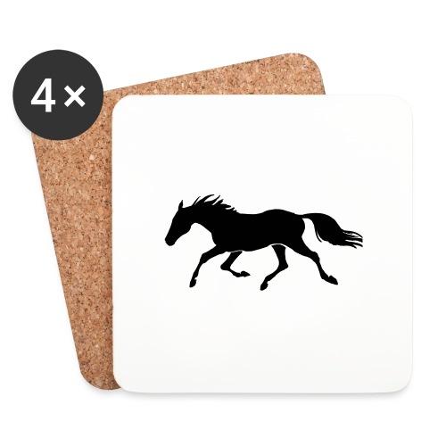 Cavallo - Sottobicchieri (set da 4 pezzi)