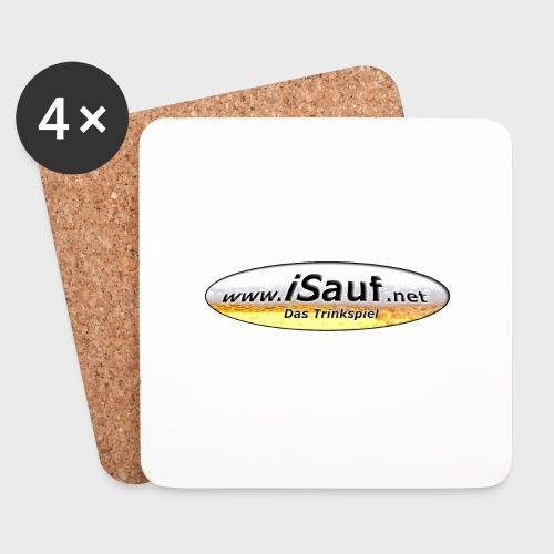 iSauf Logo - Untersetzer (4er-Set)