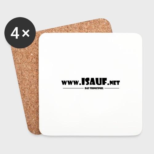 iSauf Logo 3 - Untersetzer (4er-Set)