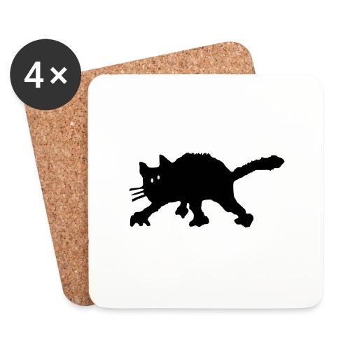 Katze - Untersetzer (4er-Set)