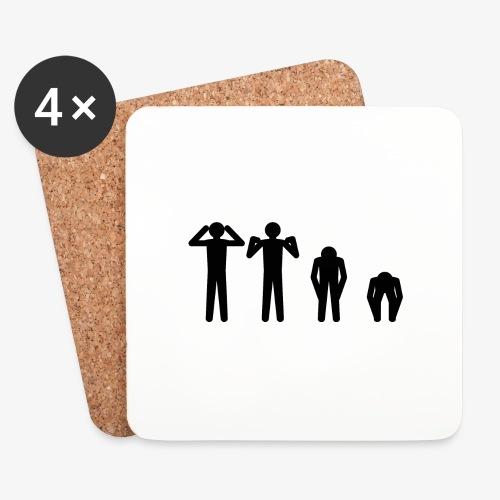 Hode, skulder, kne og tå - Brikker (sett med 4)