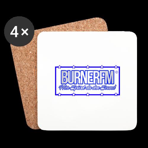 BurnerFM Hier Sürst du den Sound - Untersetzer (4er-Set)