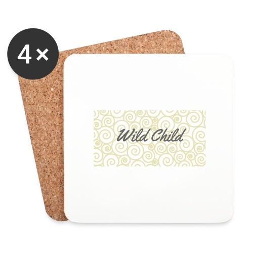 Wild Child 1 - Coasters (set of 4)