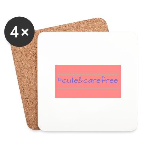 Cute & Carefree - Coasters (set of 4)