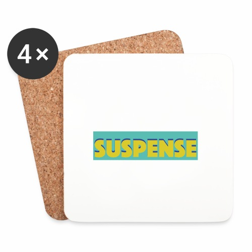 suspece - Sottobicchieri (set da 4 pezzi)