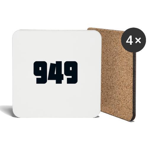 949black - Untersetzer (4er-Set)