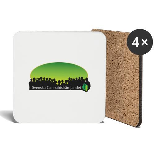 Svenska Cannabisfrämjandet - Underlägg (4-pack)