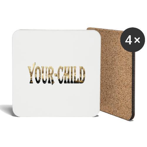 Your-Child - Glasbrikker (sæt med 4 stk.)
