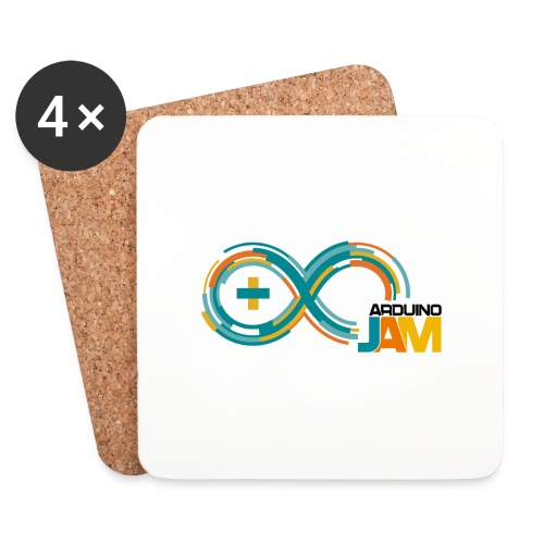 T-shirt Arduino-Jam logo - Coasters (set of 4)