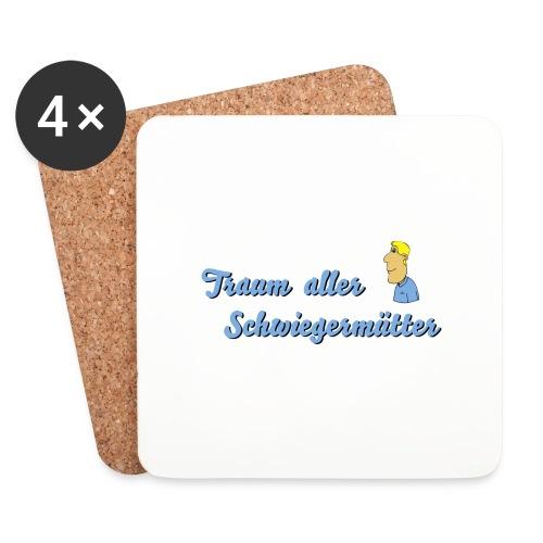 Traum aller Schwiegermütter - Untersetzer (4er-Set)