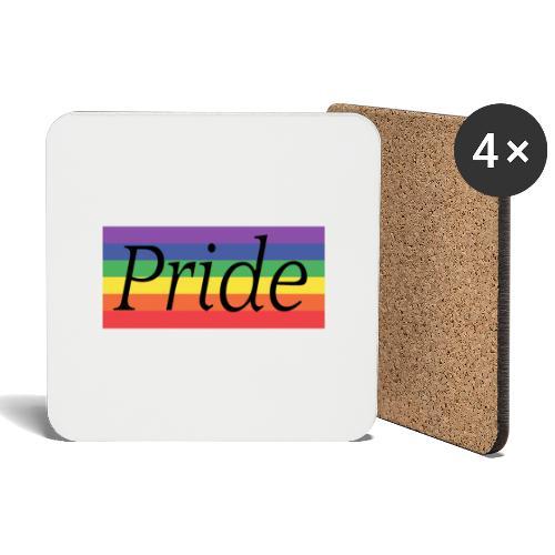 Pride | Regenbogen | LGBT - Untersetzer (4er-Set)
