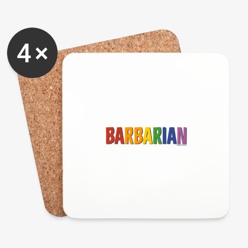 Barbarian Pride (Rainbow) - Coasters (set of 4)