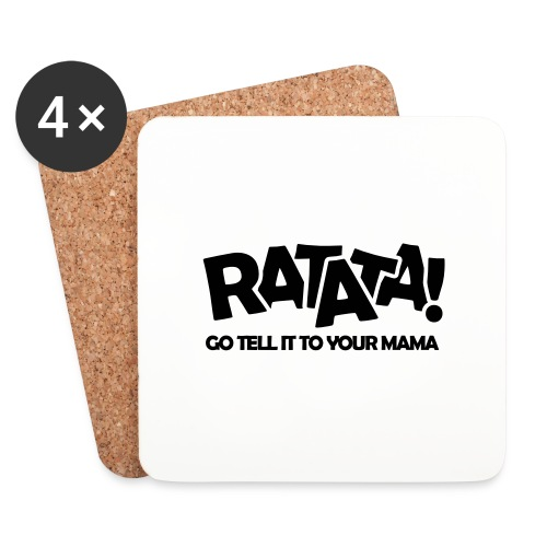 RATATA full - Untersetzer (4er-Set)