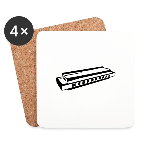 Harmonica - Coasters (set of 4)