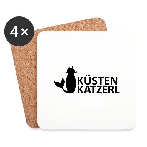 Küstenkatzerl - Untersetzer (4er-Set)