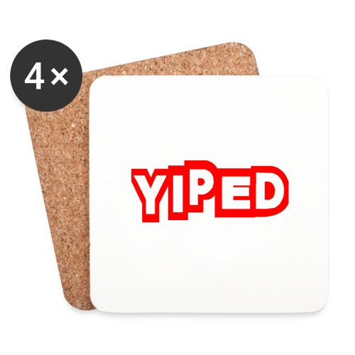 FIRST YIPED OFFICIAL CLOTHING AND GEARS - Coasters (set of 4)
