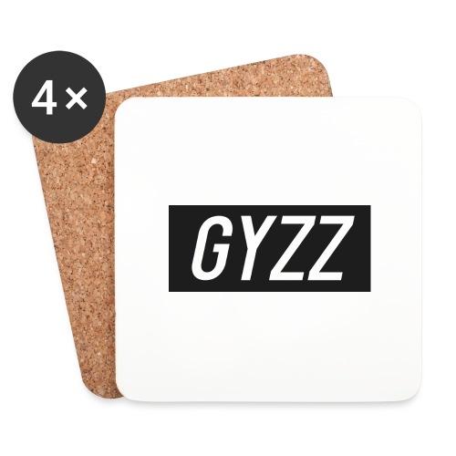 Gyzz - Glasbrikker (sæt med 4 stk.)