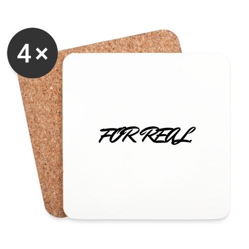 FOR_REAL - Dessous de verre (lot de 4)