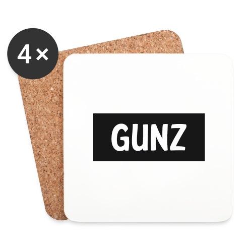 Gunz - Glasbrikker (sæt med 4 stk.)