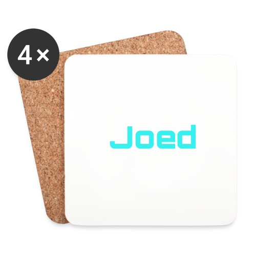 JOEDJR2020 70 SUBS MERCH - Coasters (set of 4)