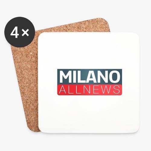 Milano AllNews Logo - Sottobicchieri (set da 4 pezzi)