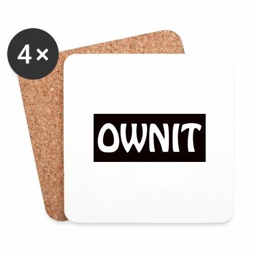 OWNIT logo - Coasters (set of 4)