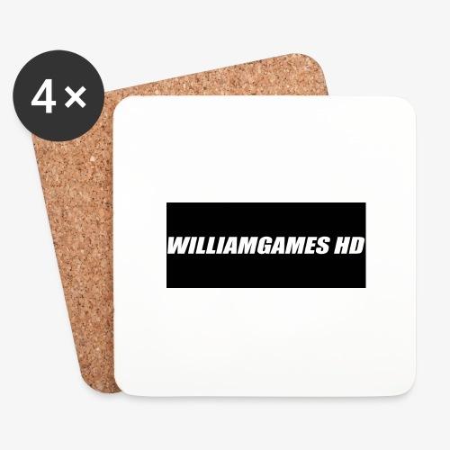 william shirt logo - Coasters (set of 4)