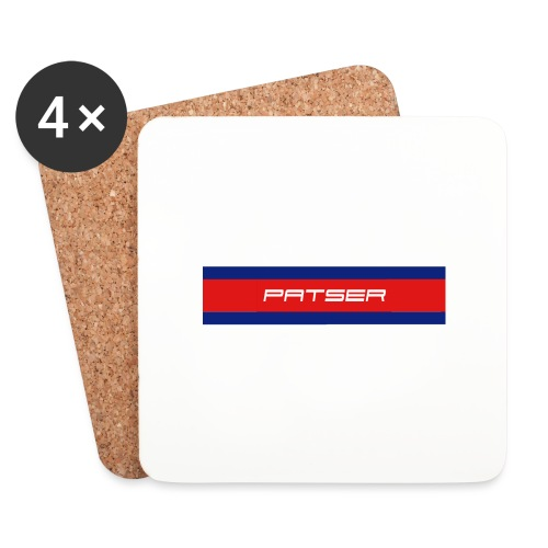 PATSER - Onderzetters (4 stuks)