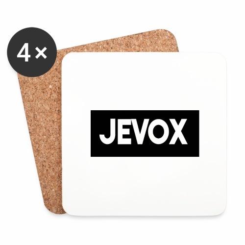 Jevox Black - Onderzetters (4 stuks)