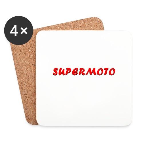 SupermotoLuvan - Underlägg (4-pack)