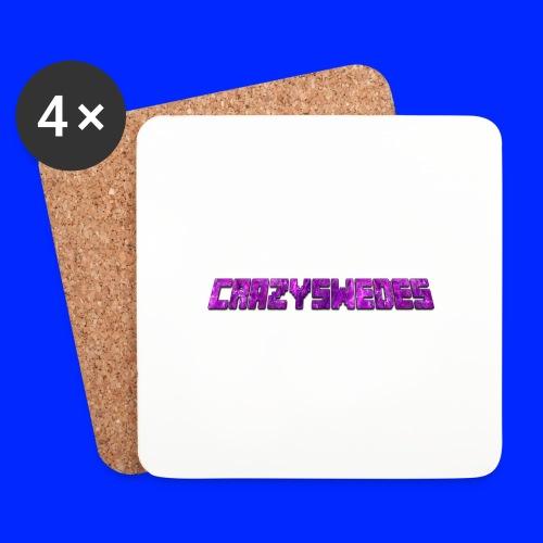 CrazySwedes PurpleThunder - Underlägg (4-pack)