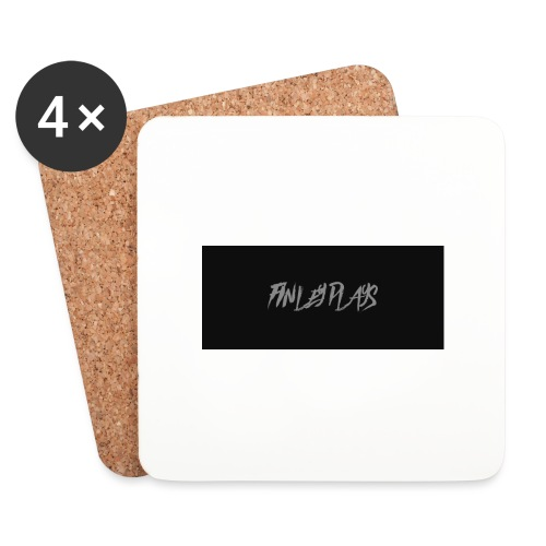Finley plays merch - Coasters (set of 4)
